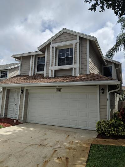 Boca Raton FL Single Family Home For Sale: $355,000