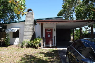 Jupiter FL Single Family Home For Sale: $250,000