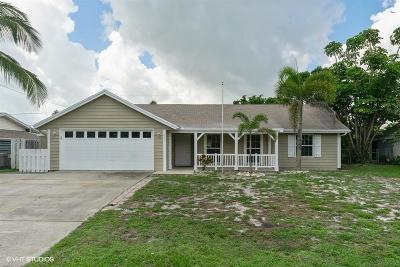 Jensen Beach Single Family Home For Sale: 1964 NE 24th Street