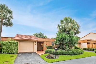 Boynton Beach Single Family Home For Sale: 5364 Stonybrook Lane