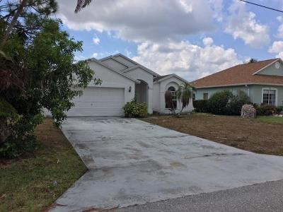 Jupiter FL Single Family Home For Sale: $312,000