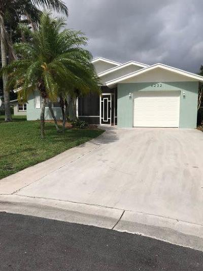 Delray Beach FL Single Family Home For Sale: $248,500