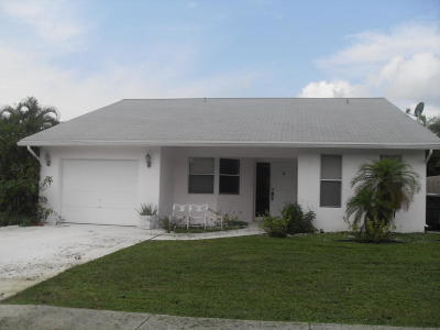 Boca Raton FL Single Family Home For Sale: $365,500