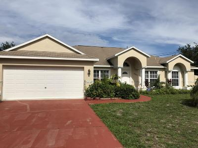 Port Saint Lucie FL Single Family Home Sold: $262,500