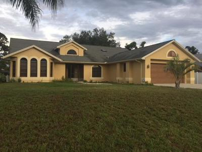 Port Saint Lucie Single Family Home For Sale: 514 SE Cliff Road