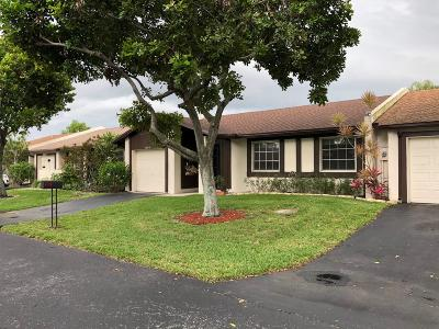 Delray Beach Single Family Home For Sale: 15831 Laurel Oak Circle #3