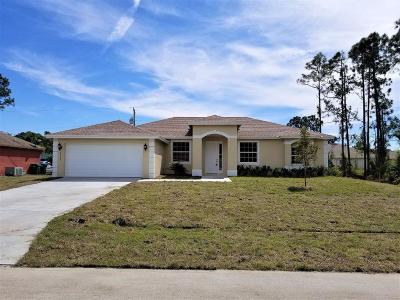 Port Saint Lucie Single Family Home For Sale: 3126 SW Esperanto Street