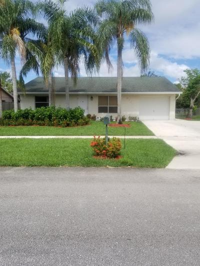 Lake Worth Single Family Home For Sale: 4741 Poseidon Place