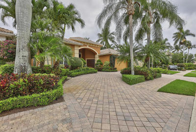 Palm Beach Gardens Single Family Home For Sale: 126 Vintage Isle Lane