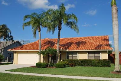 Boynton Beach, Boca Raton, Highland Beach, Delray Beach Single Family Home For Sale: 9688 Majestic Way