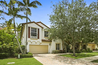 Palm Beach Gardens Single Family Home For Sale: 1057 Vintner Boulevard