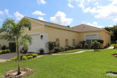 Port Saint Lucie Single Family Home For Sale: 596 SW Indian Key Drive