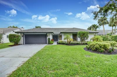 Boca Raton FL Single Family Home For Sale: $649,900