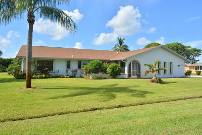 Port Saint Lucie Single Family Home For Sale