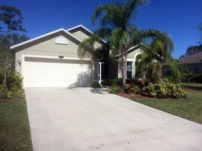 Vero Beach Single Family Home For Sale: 4835 Ashley Lake Circle