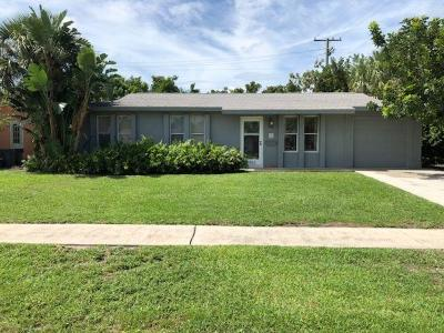 Palm Beach Gardens Single Family Home For Sale: 3862 Bahama Road