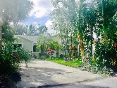 Juno Beach Single Family Home For Sale: 1940 Pleasant Drive