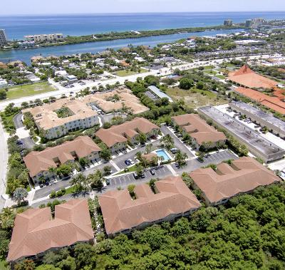 Tequesta Townhouse For Sale: 158 Village Boulevard #B