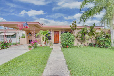 Lantana Single Family Home For Sale: 513 W Drew Street