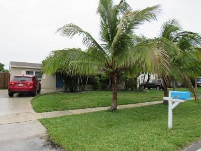 Palm Beach Gardens Single Family Home For Sale: 4342 Arbor Way