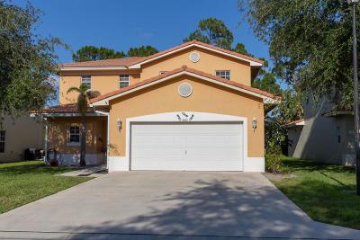 Greenacres Single Family Home For Sale: 6681 Eagle Ridge Drive