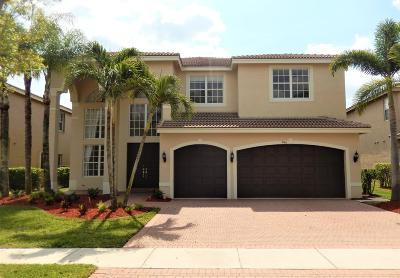 Delray Beach Single Family Home For Sale: 9766 Napoli Woods Lane