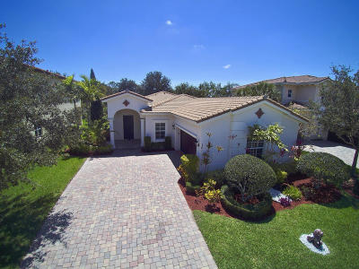 Jupiter Single Family Home For Sale: 161 Porgee Rock Place