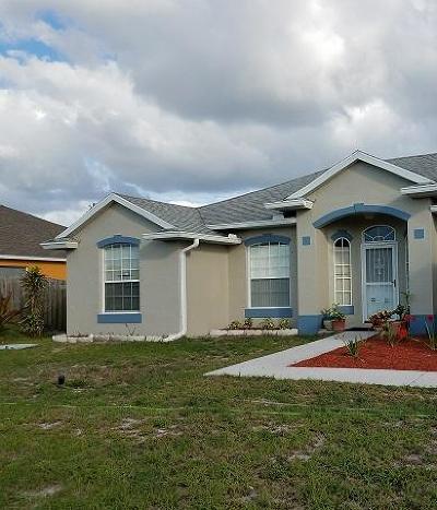 Port Saint Lucie Single Family Home For Sale