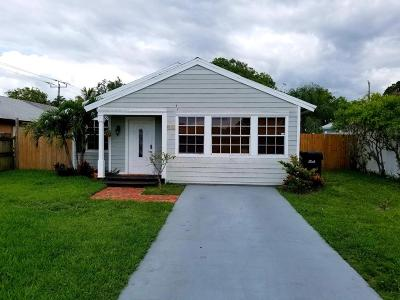Delray Beach FL Single Family Home For Sale: $375,000