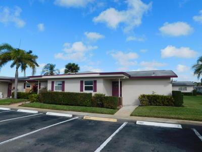 West Palm Beach Condo For Sale: 2661 Barkley Drive W #A