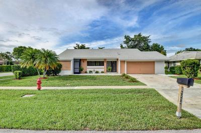 Delray Beach Single Family Home For Sale: 6254 Timberlakes Way
