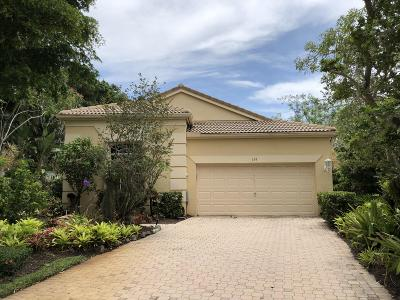 Palm Beach Gardens Single Family Home For Sale: 339 Sunset Bay Drive