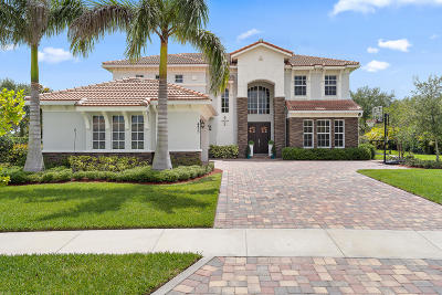 Jupiter Single Family Home Contingent: 435 Rudder Cay Way