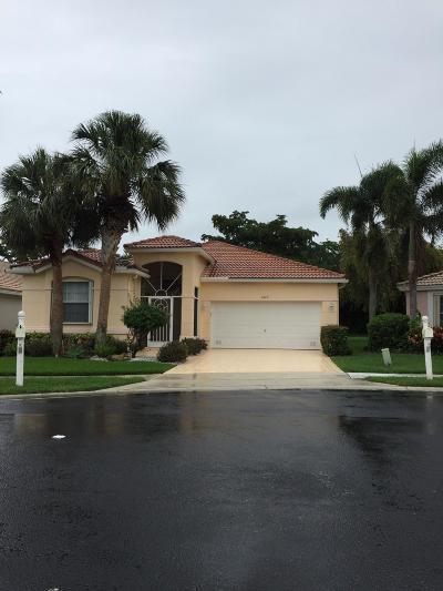 Boynton Beach Single Family Home For Sale: 6422 Pebble Creek Way