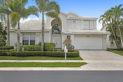 Boca Raton Single Family Home For Sale: 17299 Ventana Drive