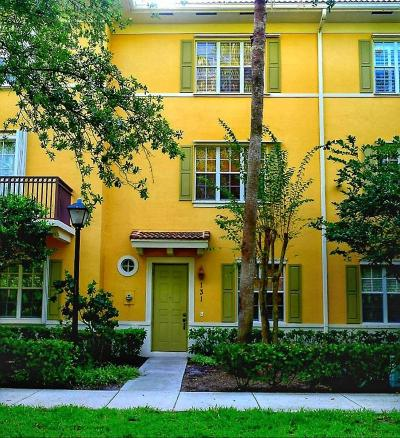 Jupiter Townhouse For Sale: 131 W Indian Crossing Circle