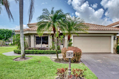 Boca Raton Single Family Home For Sale: 5172 Suffolk Drive