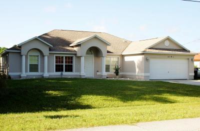 Port Saint Lucie Single Family Home For Sale: 2191 SE South Buttonwood Drive