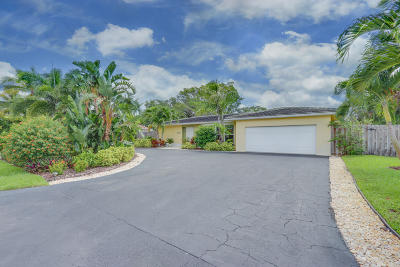 Delray Beach Single Family Home For Sale: 421 Homewood Boulevard