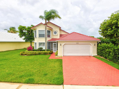 Boca Raton Single Family Home For Sale: 10692 Plainview Circle