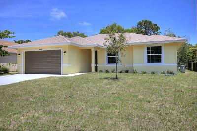 West Palm Beach Single Family Home For Sale: 13676 86th Road