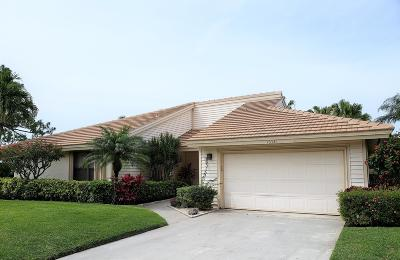 Palm Beach Gardens Single Family Home For Sale: 13321 Touchstone Place