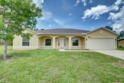 Port Saint Lucie Single Family Home For Sale: 5746 NW Bonny Court
