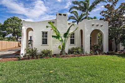 West Palm Beach Single Family Home For Sale: 831 Claremore Drive