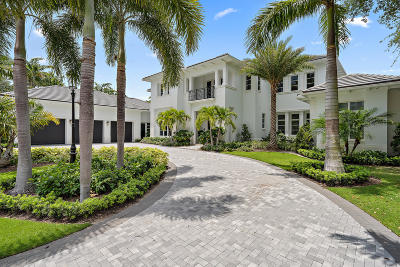 Palm Beach Gardens FL Single Family Home For Sale: $4,700,000