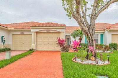 Delray Beach Single Family Home For Sale: 6107 Caladium Road #6107