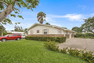 Palm Beach Gardens Multi Family Home Contingent: 8546 Sunset Drive E