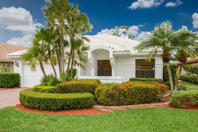 Boca Raton Single Family Home For Sale: 21375 Bridge View Drive