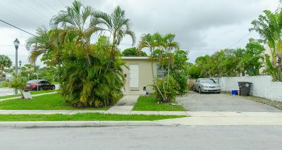 West Palm Beach Multi Family Home Contingent: 3110 Georgia Avenue