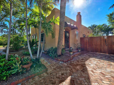 West Palm Beach Single Family Home For Sale: 606 Upland Road